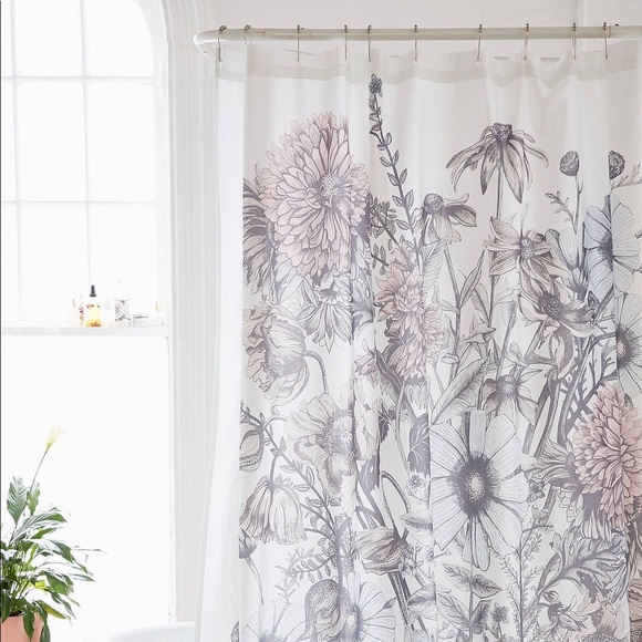 Urban Outfitters Shower Curtain NWT